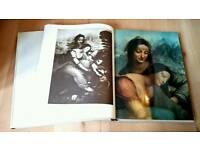 Leonardo Da Vinci Leisure Arts 1964 Volumes 1 and 2. RARE.