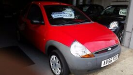FORD KA STUDIO [FSH] 12 MONTH MOT, 3 MONTH WARRANTY