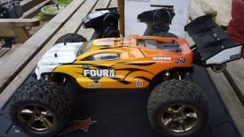 RC Helion select four 10tr large brushless truggy