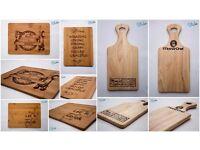 Customize chopping boards