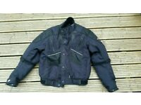 Riossi textile motorcycle jacket size small