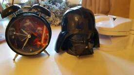 star wars money box and alarm clock