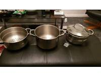 Steamer pans