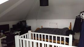 Huge double room in friendly flat share