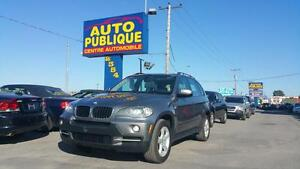 BMW X5 3.0i 2008 AWD TRACTION INTEGRALE NAV CUIR TOIT CRUISE