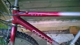 Cannondale M400 mountain bike