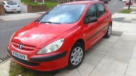 Peugeot 307 1.6 Style 16v. !0 months MOT quality runner or spares. New clutch and thrust bearing.