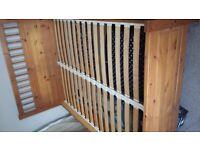 Kingsize Bed Frame - Ikea / Hemnes / Solid Wood