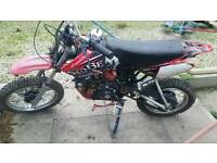 Pitbike offroad dirtbike 125cc and parts loblot