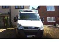 iveco daily 35s11 frdge/freezer boxvan/recovery truck/scaffold/flatbed/horsebox