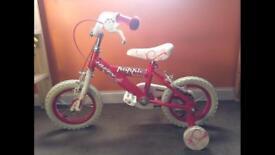 "12"" Girls Huffy 'Poppie' Bike"