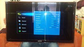 Samsung Smart TV 40 inch flat screen