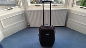 Black Cabin Size Suitcase, Wheels are abit Worn, Inside is great condition, Contact me asap, Cheap£6