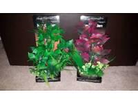 Various NEW artificial aquarium plants
