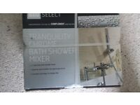Tranquility Chrome Bath Shower Mixer set