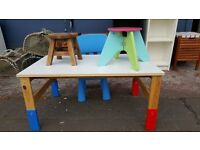 Childrens Ikea Desk & Chair