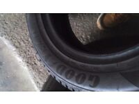 Full set of tyres 80 pounds 6-7 mil