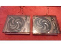 2 Numark TT-1520 turntables for sale