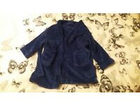 Childrens blue dressing gown age 2 - 3