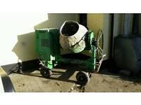 belle cement mixer diesel key start hold bag tel Cookstown