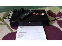 DENON CD PLAYER DCD-710AE, BLACK