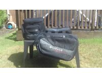 Buffalo Expandable Panniers and Tailpack.