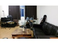 REHEARSAL ROOM CREATIVE SPACE RECORDING STUDIO AND STORAGE AVAILABLE