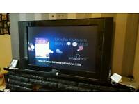 "Phillips 48"" TV with remote no stand"