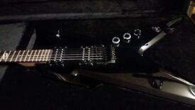 Dean's guitar Razorback
