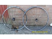 PR FORSA STRATOS (made by ridley) RACING BIKE WHEELS TAKE 8/9/10 SPEED CASSETTE
