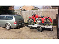 Motorcycle Trailer (convertible to standard trailer)
