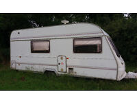 Bargain caravan perfect for site office or on stable yards/allotments
