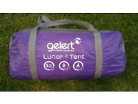 Gelert lunar 2man tent in good condition all in bag ready to go! Can deliver or post! Thank you