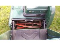 Atco Windsor-14S 14-inch Self Propelled Electric Cylinder Lawnmower (Old Version)