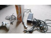 Xbox 360. £30 .All fully working and good condition. It comes with cables and controller. if close.