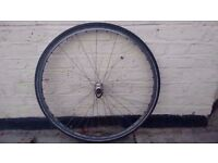Mavic 700c front wheel with tyre
