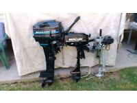 3 OUTBOARD BOAT ENGINES