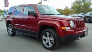2017 Jeep Patriot HIGH ALTITUDE 4X4 - ONLY 9,000 KMS
