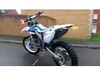 Honda CRF X 450 2016 66reg bike only had 20hrs use..fab condition with a race can..