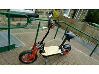 - 1000 WATT ZIPPER ON/OFF ROAD ELECTRIC ADULT SCOOTER WITH LEDS LIGHTS - RRP £440 -