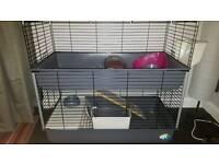 Rabbit/Guinea pig 2 tier cage