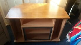 Corner TV cabinet / stand in good condition