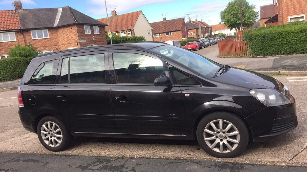 2006 vauxhall zafira 1 9 cdti 7 seater in hull east yorkshire gumtree. Black Bedroom Furniture Sets. Home Design Ideas