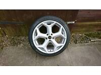 Ford focus st spare alloy wheel brand new tyre
