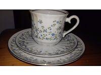 Vintage 17 piece Tea set-Zajecar Bone China
