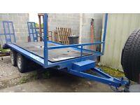 Beaver Tail - Trailer for Sale - Flatbed, low loader, transporter