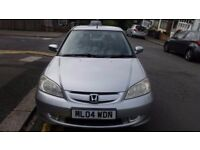 honda civic ima 1.4 manual petrol with tax and mot