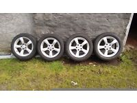 16 Inch Mercedes Alloy Wheels with Good Tyres