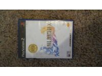Official Playstation 2 FINAL FANTASY X GAME.