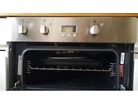 Hotpoint Integrated Double Oven in great condition